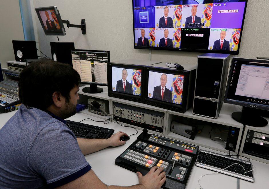 Dėl karo kurstymo metams stabdoma rusų kanalo transliacija