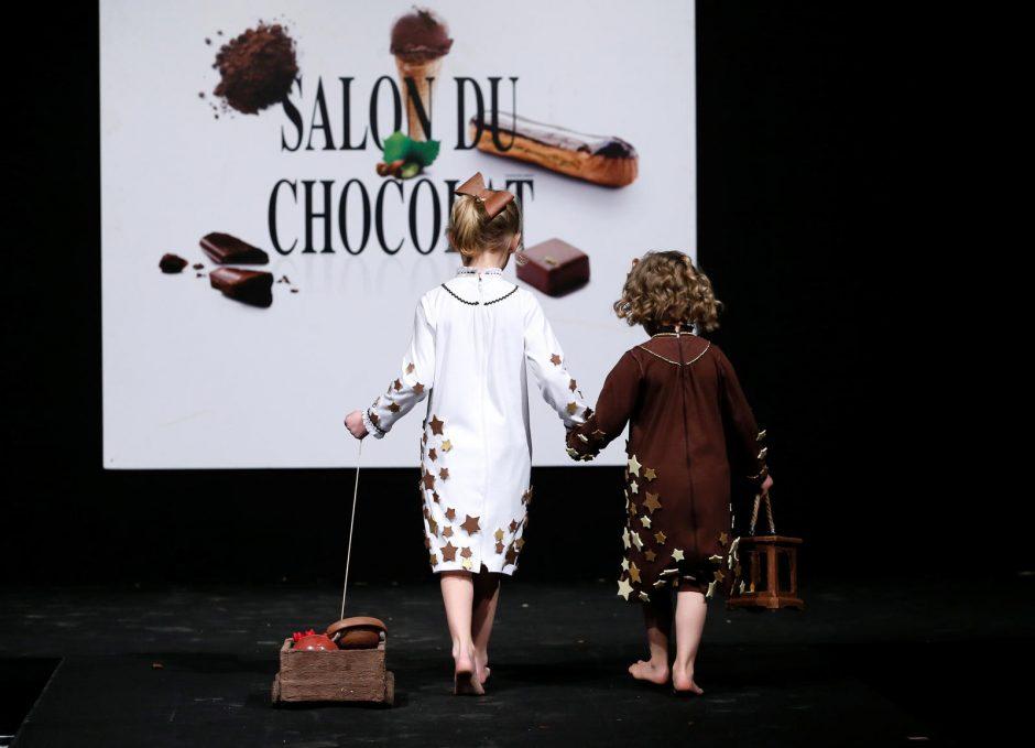 Pamatykite šokoladinius mados šedevrus
