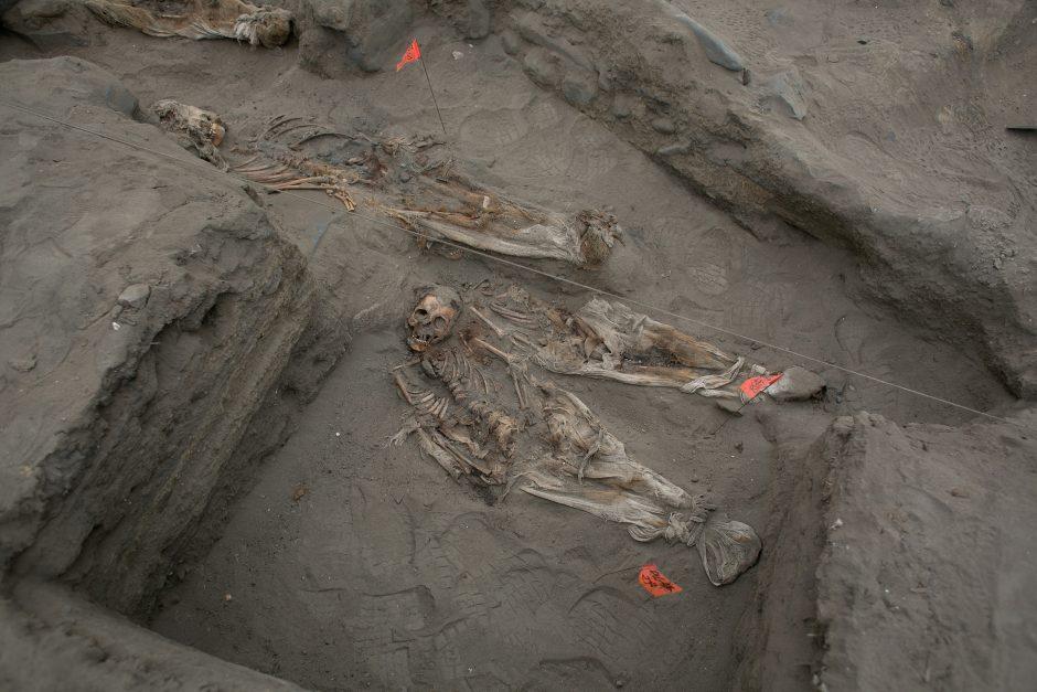 Peru atrasta nauja masinė paaukotų vaikų kapavietė