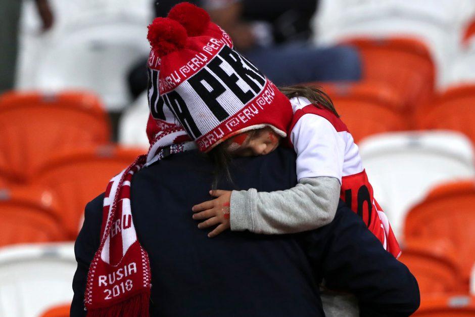Danijos futbolininkai įveikė Peru komandą