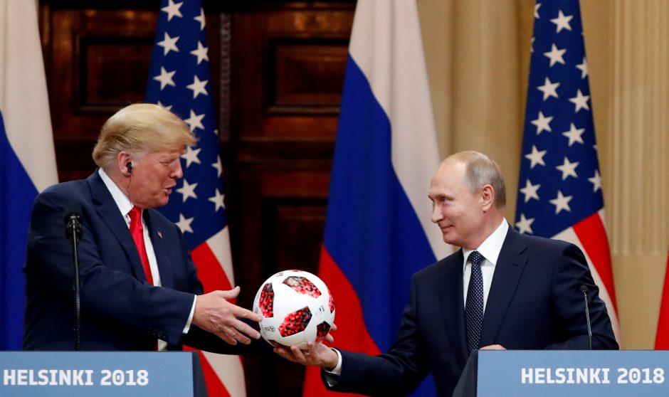 D. Trumpo ir V. Putino derybos Helsinkyje