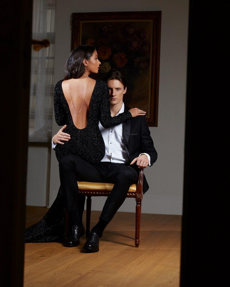 K. Meschino su savo vaikinu pristatė amžinos meilės simbolį