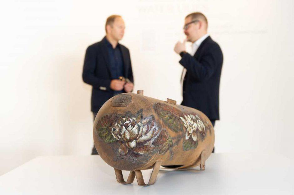 """Meno mugėje """"ArtVilnius'18"""" pristatyta unikali dovana Vilniui"""