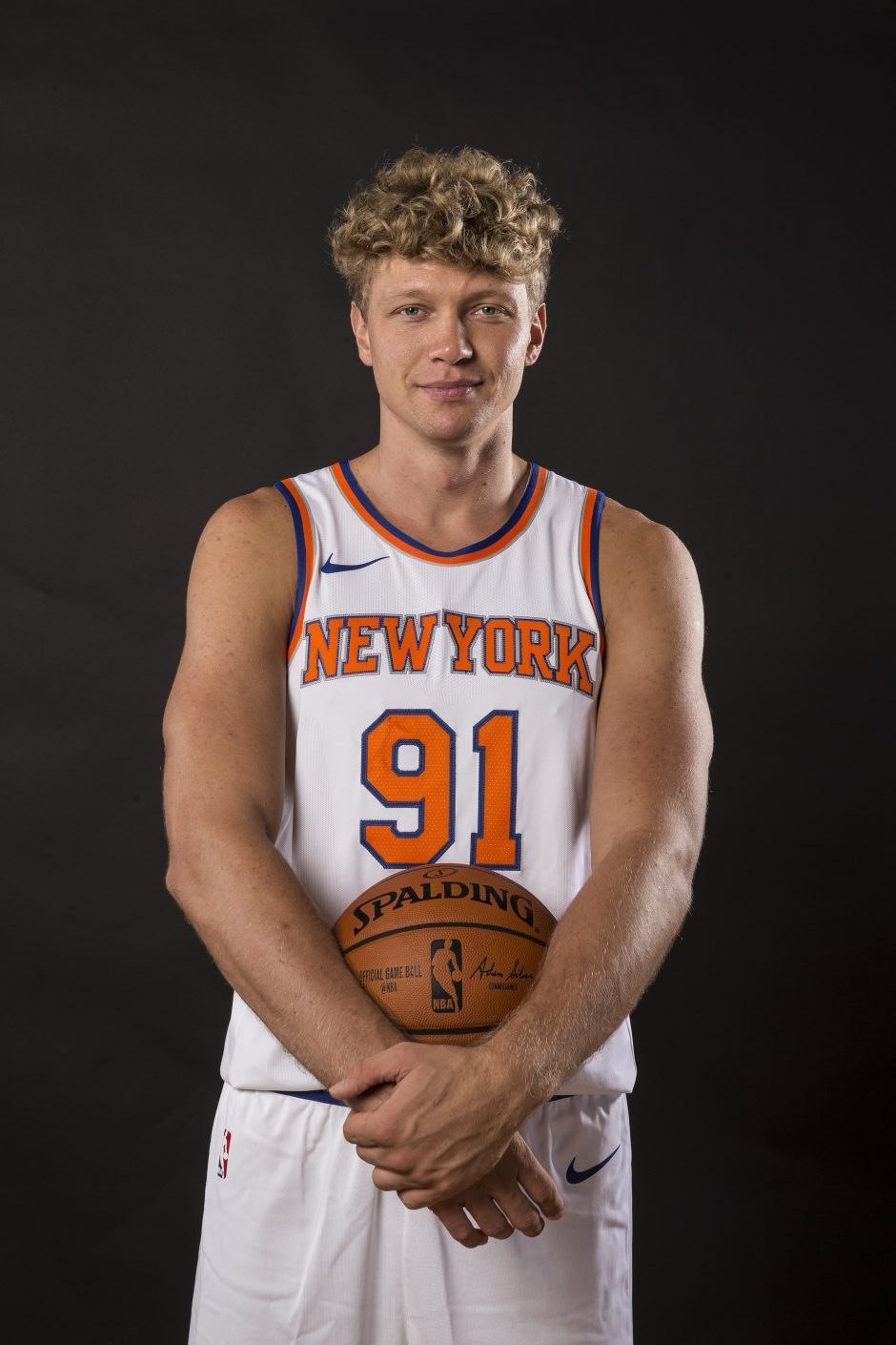 """New York Knicks"" atleido M. Kuzminską"