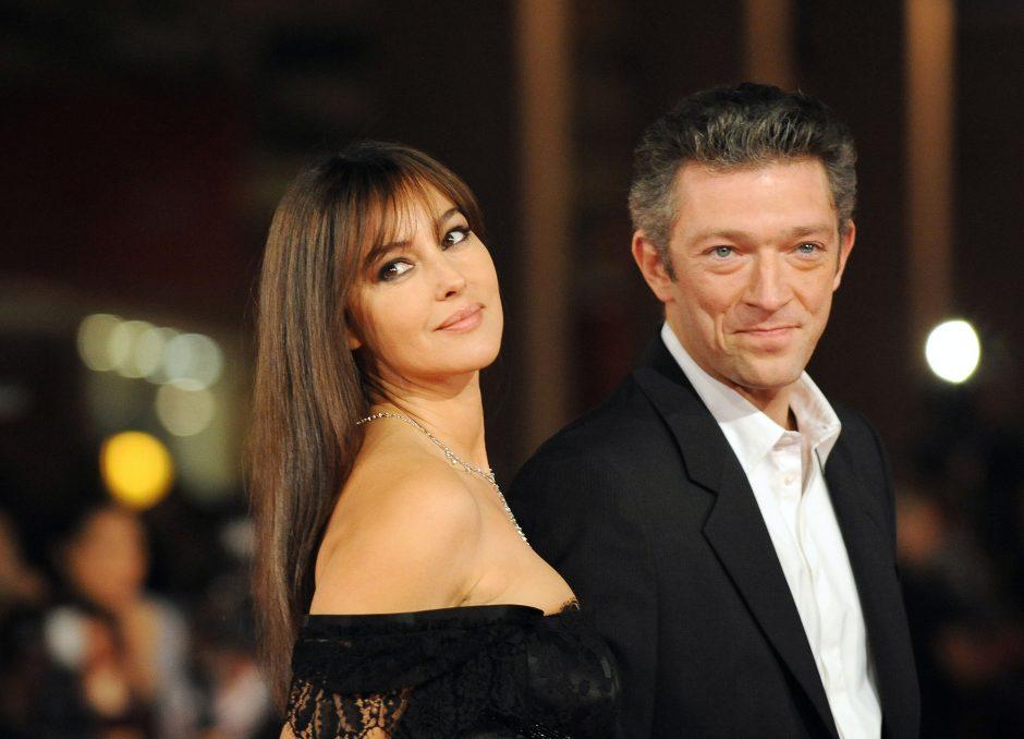 Po 14 metų iširo aktorių V. Casselio ir M. Bellucci santuoka