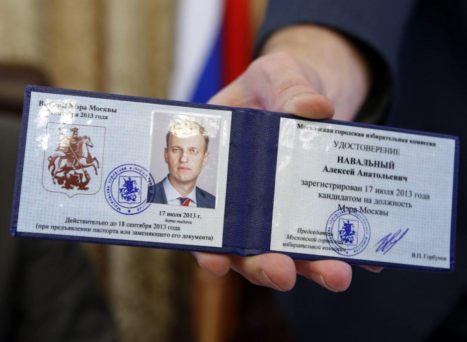 A. Navalnas: tai, kas vyksta dabar - unikalus reiškinys Rusijos teisingumo sistemoje