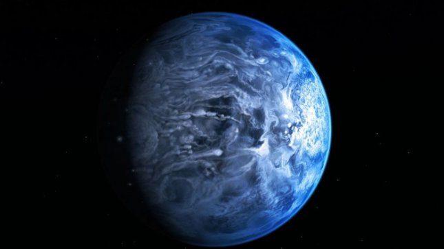 """""""Hubble"""" nufotografavo neregėto grožio mėlyną planetą"""