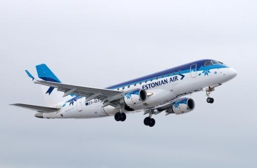 """""""Estonian Air"""" informuoja keleivius dėl skrydžio Vilnius–Berlynas"""