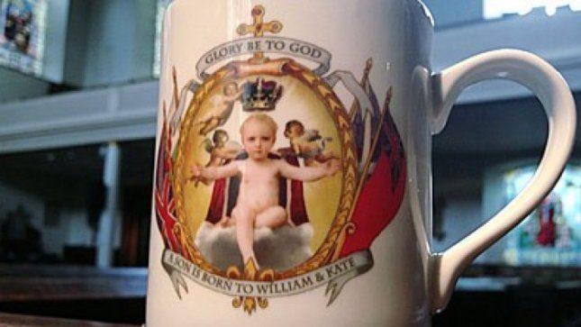 Kas pirmesnis, tas gudresnis? Puodelis su dar negimusiu karališkuoju kūdikiu – jau prekyboje