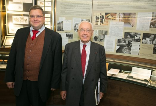 Lietuvos banke – 1992 m. auksą grąžinusio Prancūzijos centrinio banko vadovas