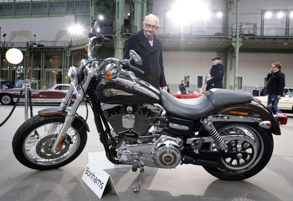 Popiežiaus motociklą nežinomas pirkėjas įsigijo už 241 500 eurų