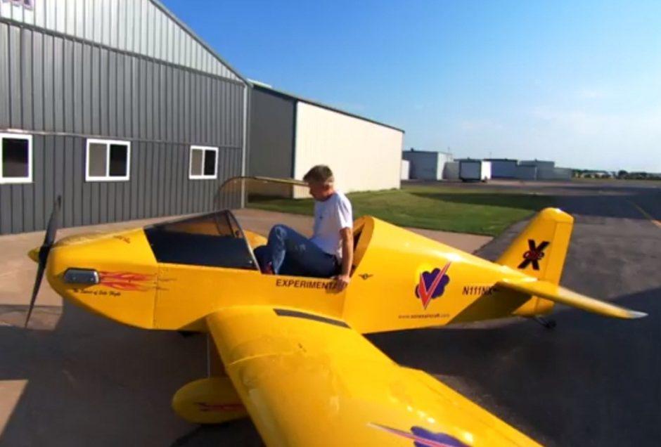 Reaktyvinis lėktuvas, pagamintas garaže