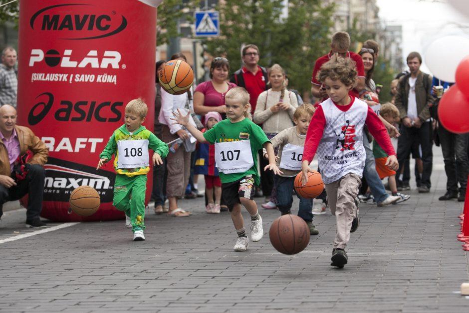 Vilniaus krepšinio maratone – tik viena mergina