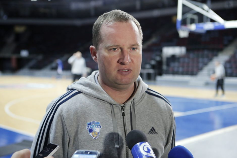 """""""Neptūnas"""" pradės mūšius antrame fronte – FIBA Čempionų lygoje"""