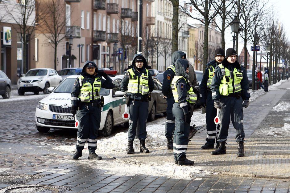Kelių policininkus nustebino pažeidėjos paaiškinimas