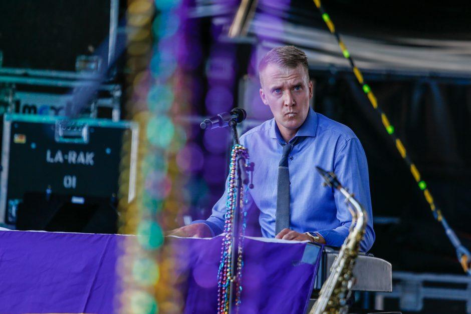 Džiazo fiestą užbaigė siautulingas šou