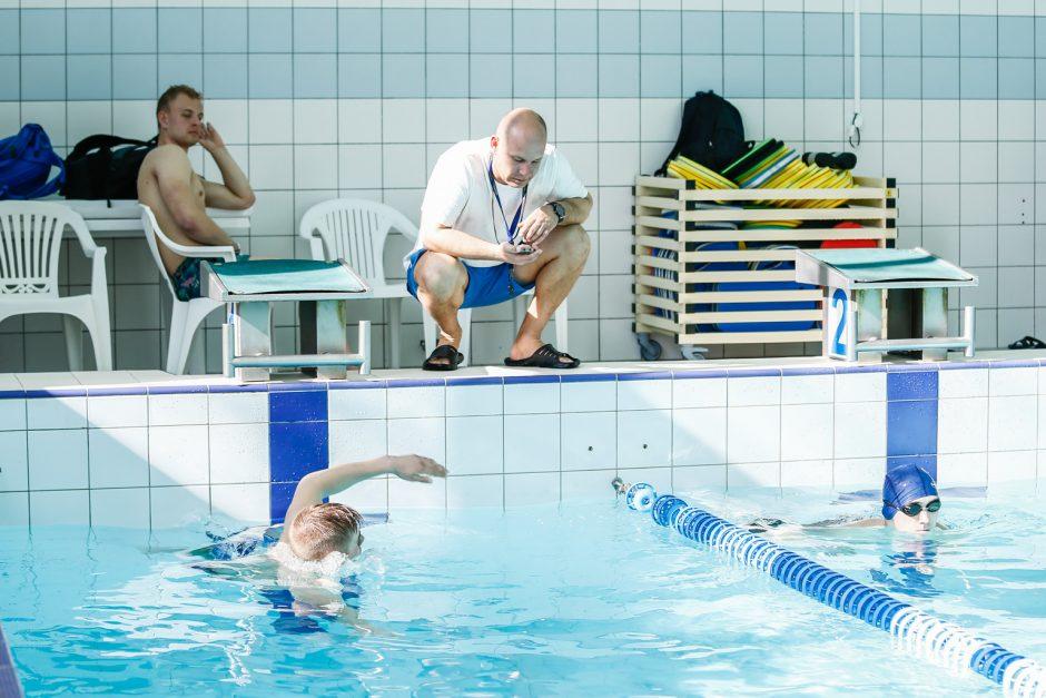 Gelbėtojų atranka Gintaro baseine