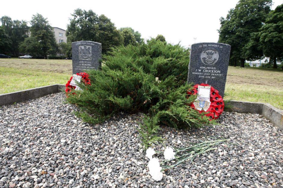 Prie britų kapų Klaipėdoje bus įamžinta unikali istorija