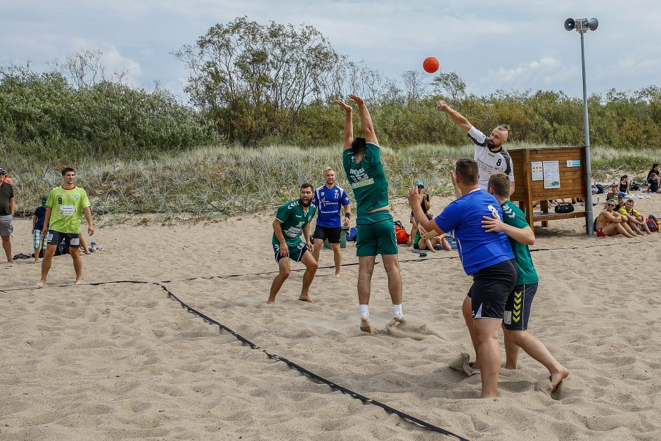 Paplūdimio rankinio turnyras