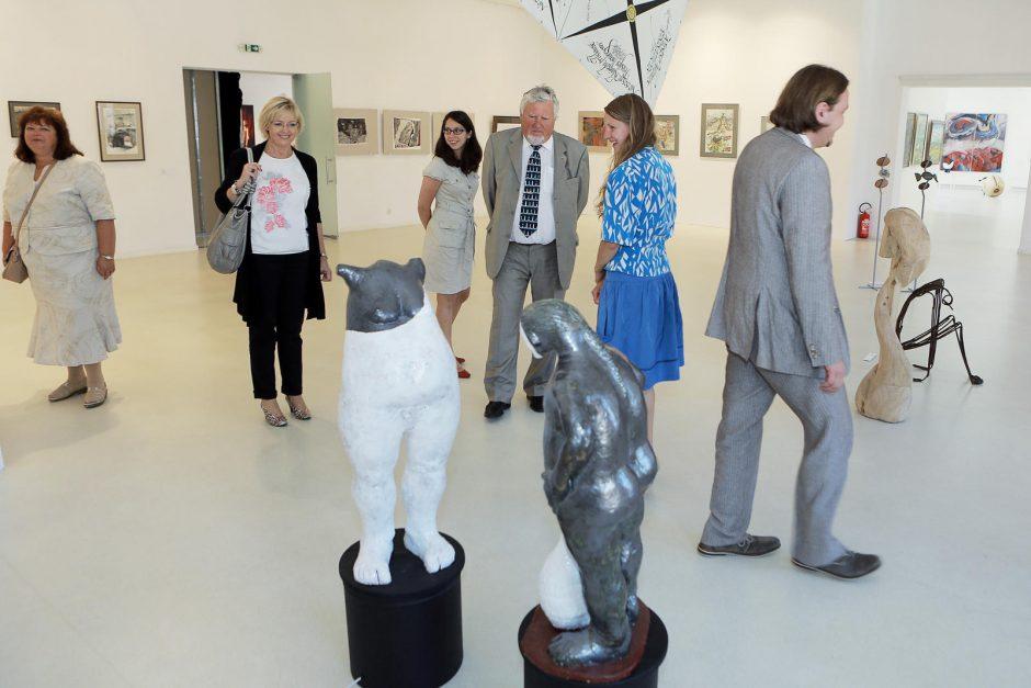Klaipėdą aplankė kultūros atašė K.Andersson