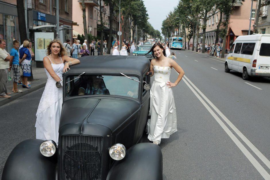 Klaipėdos nuotakų paradas