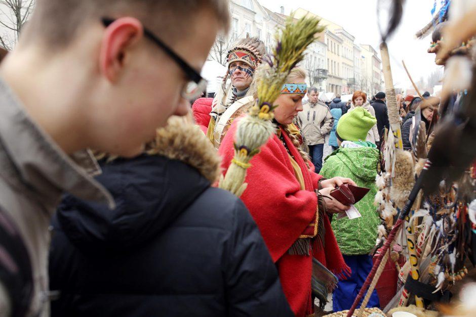 Klaipėdos senamiestyje šurmuliuoja Kaziuko mugė