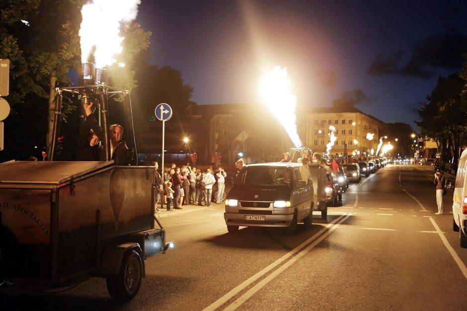 Klaipėda 761-ąjį gimtadienį šventė ugningai