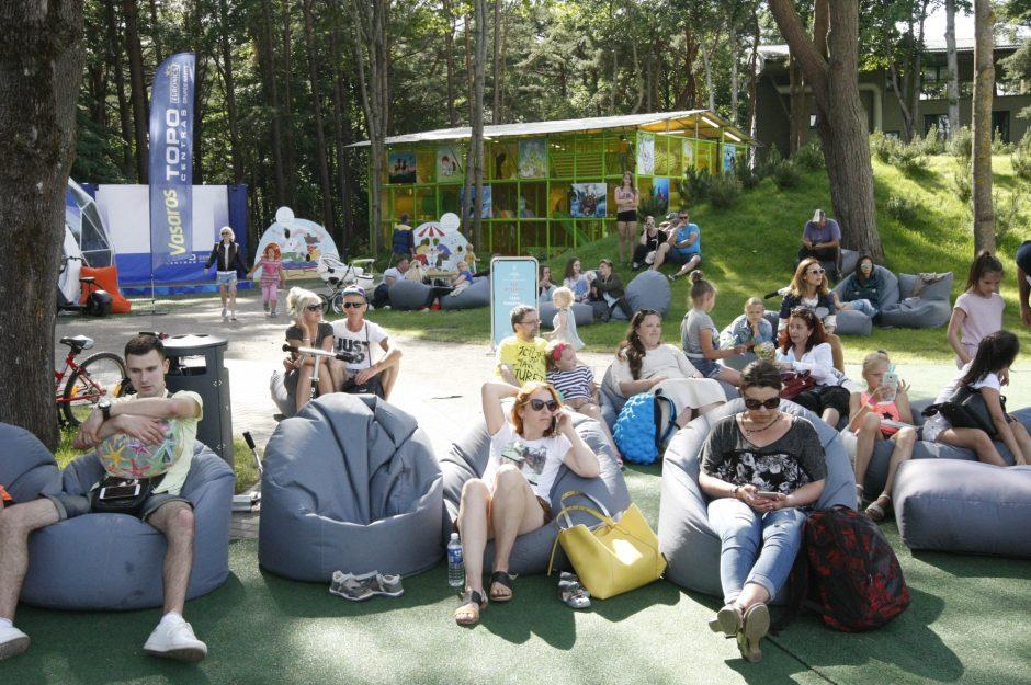 Palangoje atidarytas vasaros pramogų parkas
