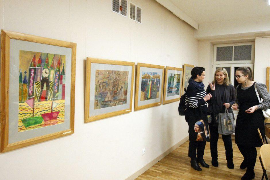 P. Domšaičio galerijoje – jaunųjų dailininkų ekspozicija