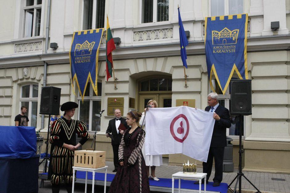 Jūros šventės sostinėje jau plazda karališka vėliava