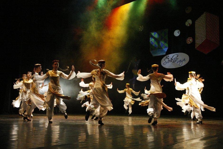 Žvejų rūmuose varžėsi šokėjai iš visos Lietuvos