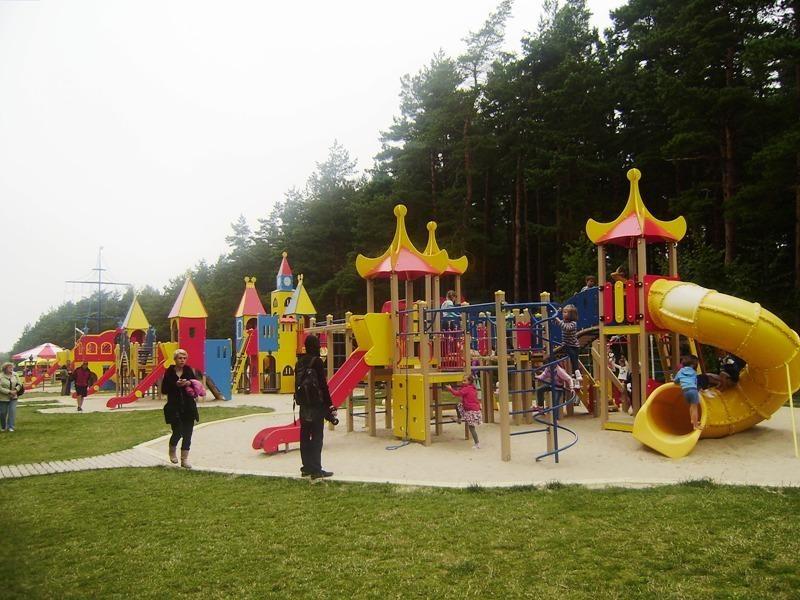 Palanga mažuosius džiugina Vaikų parku