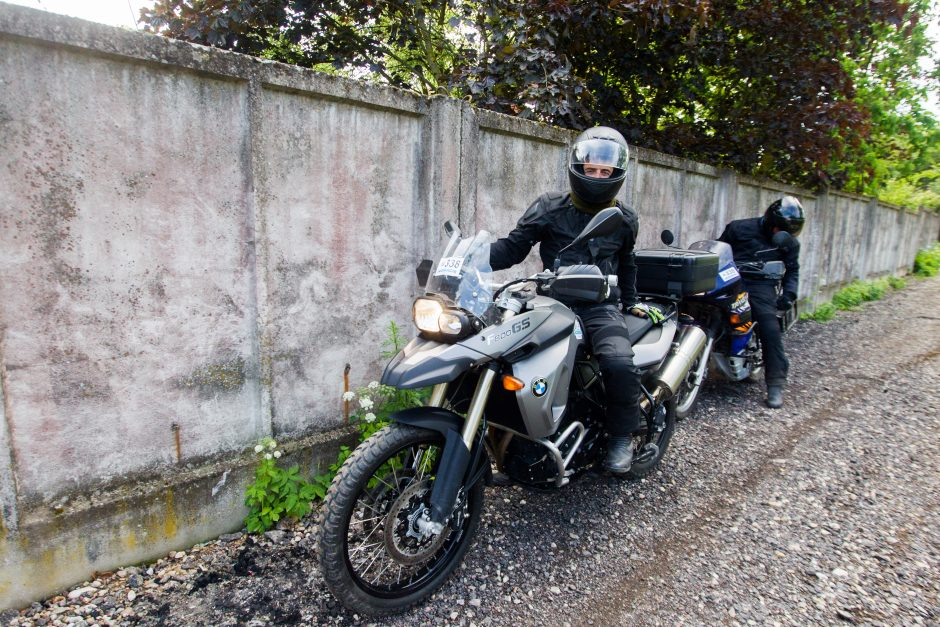 Mototuristai aplankė III fortą