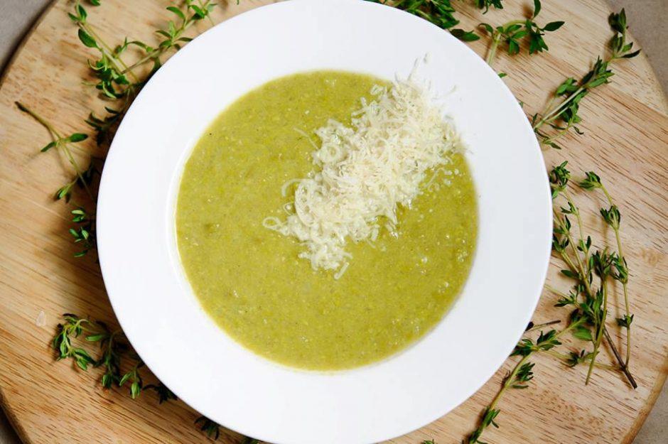 Trinta žirnių ir obuolių sriuba (receptas)
