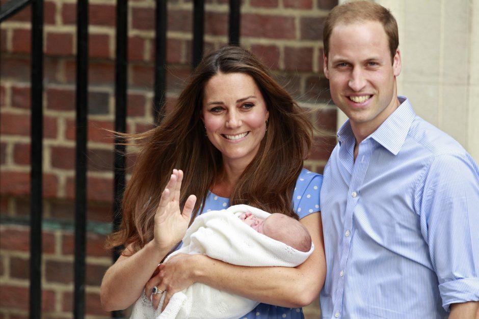 Princas Williamas pasidalijo savo tėvystės džiaugsmais