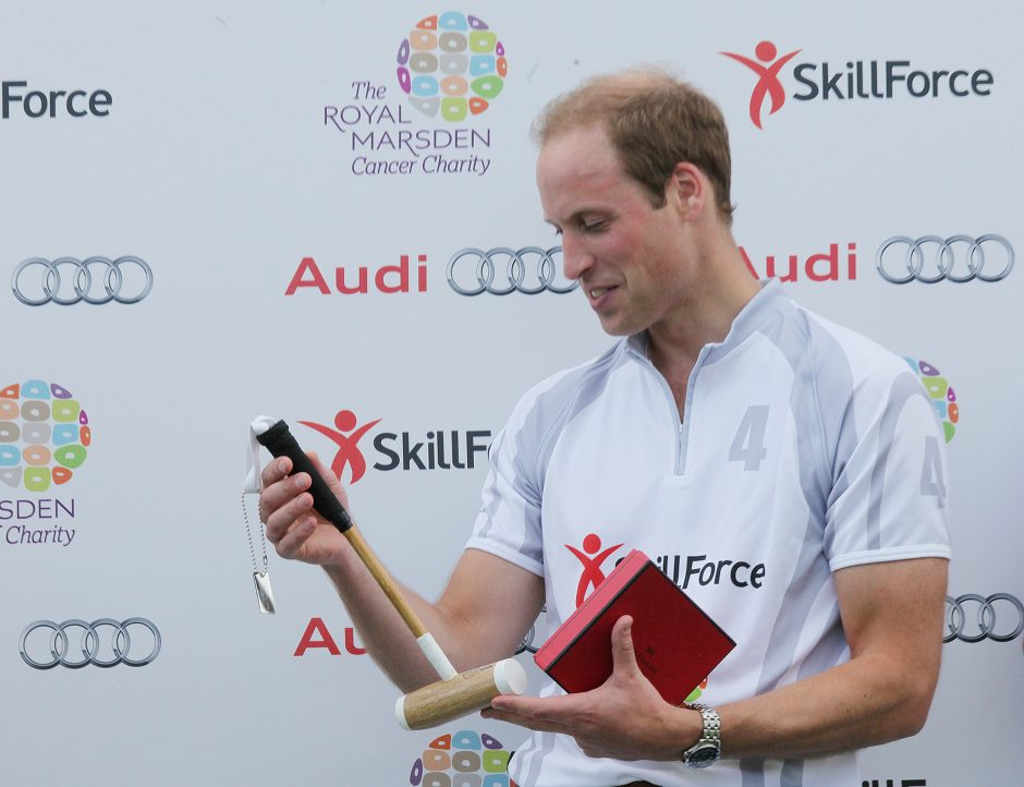 Princas Williamas papasakojo, kaip jaučiasi tapęs tėvu
