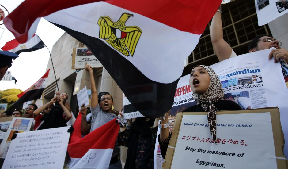 Egipto vyriausybė numato aptarti Musulmonų brolijos likimą
