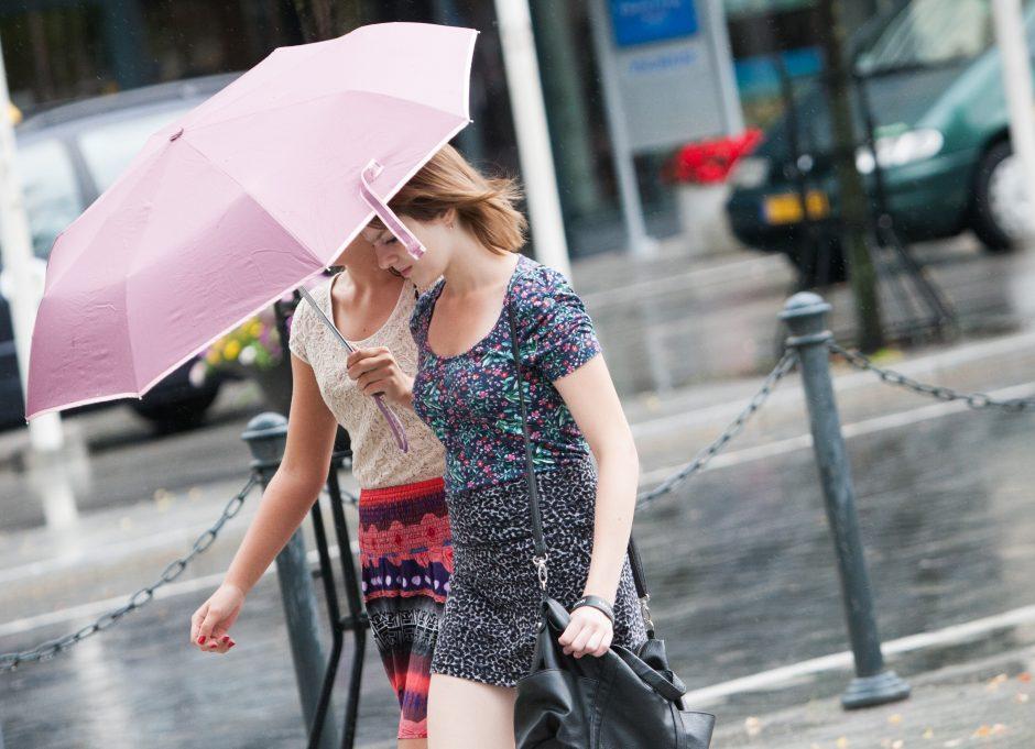 Ateinančią savaitę sinoptikai prognozuoja vėsą ir lietų