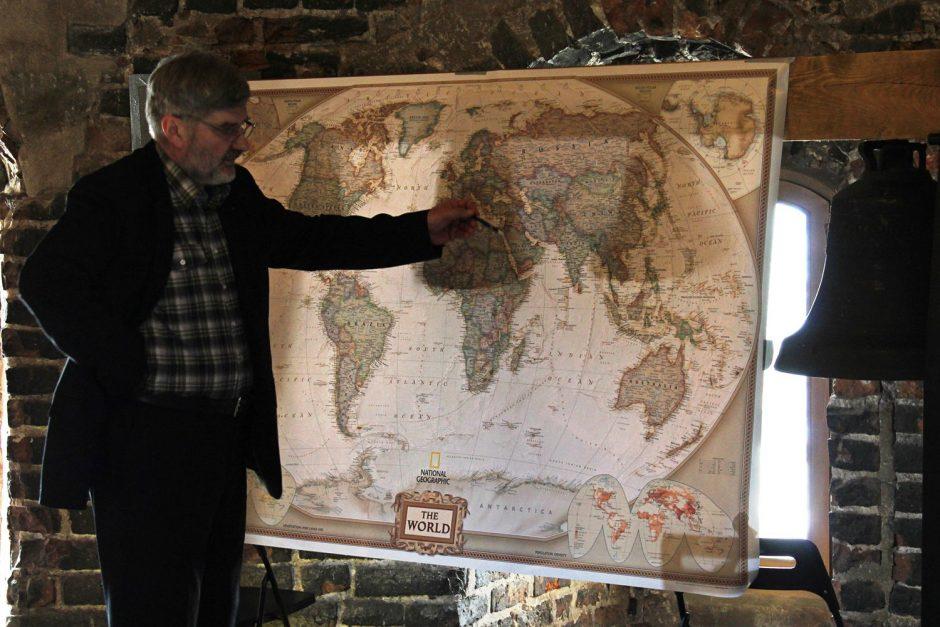 Valstybės šimtmečio proga – trejus metus truksiantis žygis aplink pasaulį