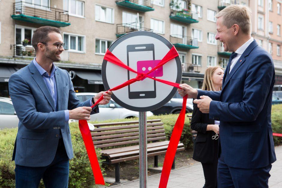 Vilniuje – unikali eismo juosta mobiliems