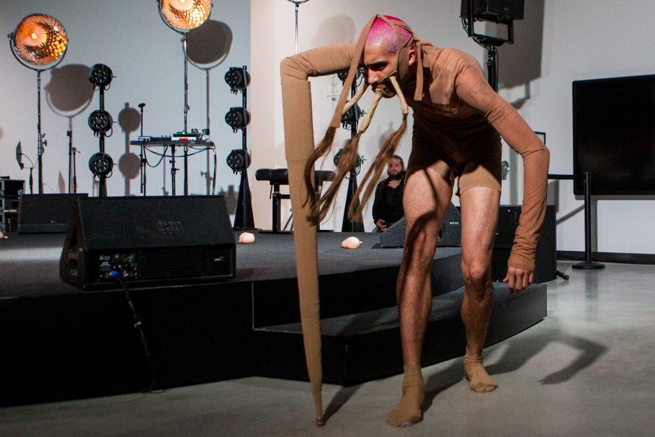 Performansas MO muziejuje