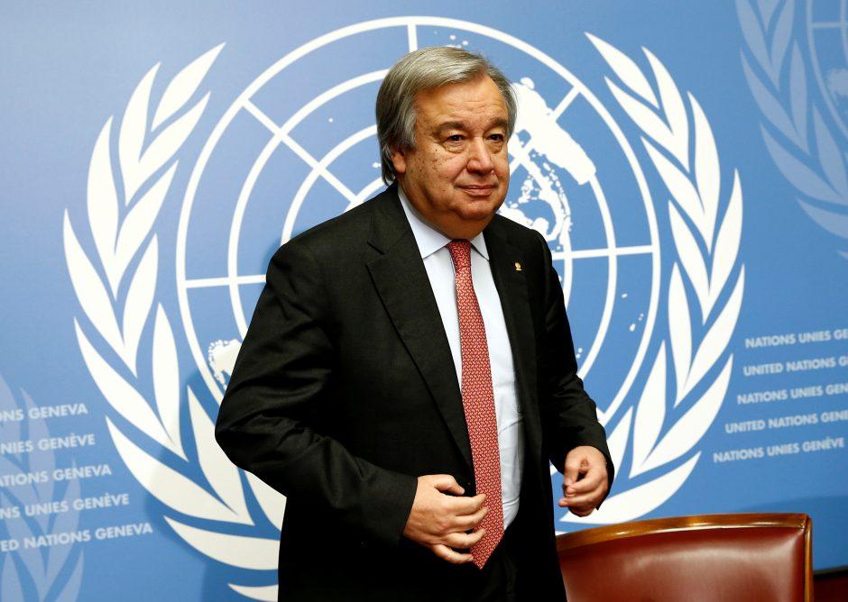 JT vadovas vyksta į Kolumbiją paremti taikos derybų pastangų