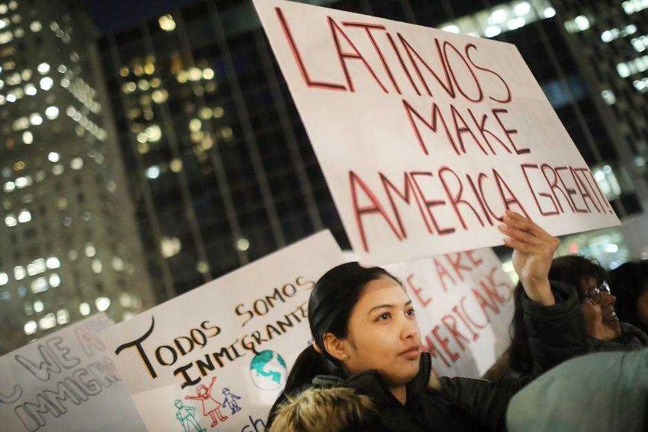 Amerikiečiai paskelbė Dieną be imigrantų