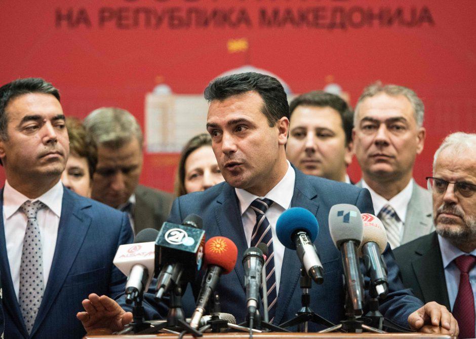 Makedonija ruošiasi persivadinti į Šiaurės Makedoniją
