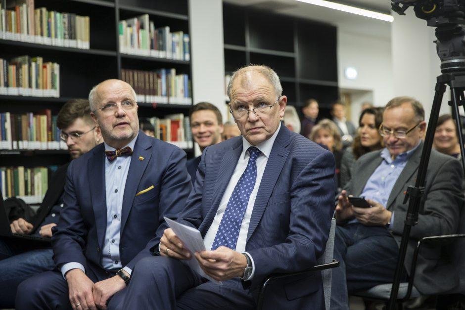 V. P. Andriukaitis paskelbė dalyvausiantis prezidento rinkimuose