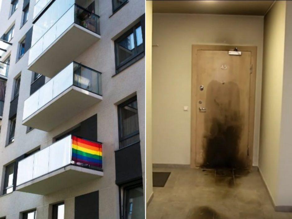Sulaikyti padegėjai, siaubę R. Zabarausko namą: policija nesieja su neapykanta gėjams