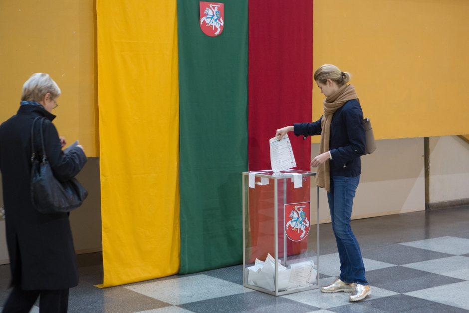 Trys rajonai renka naują Seimo narį