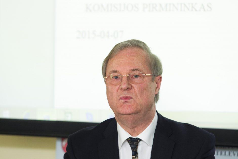 Seimo Kultūros komitetas nepritarė E. Vaitekūno atsistatydinimui