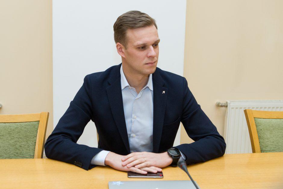 G. Landsbergis: Kaimo reikalų komiteto posėdžio įrašas vis dar slepiamas