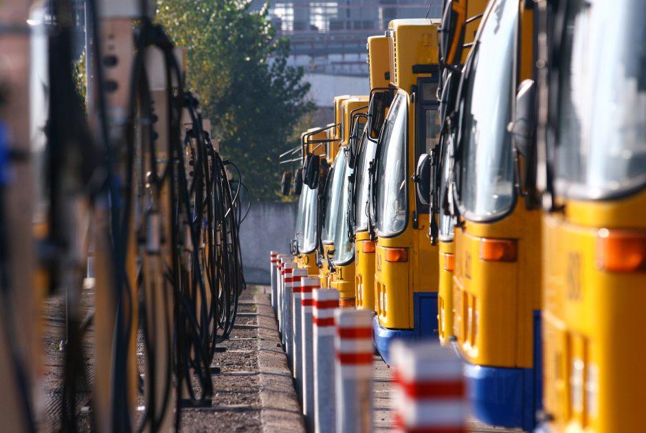Miesto autobusus grobęs vilnietis stoja prieš teismą